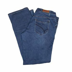 2016 Parasuco Straight Leg Medium Wash Jeans 12